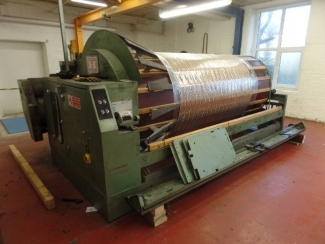 1 x 2.2m Hattersley RW8 Section Warper with Creel