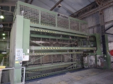 1 x  Hubtex Paternosta for 24 Warp Beams, Type KLV, 1999