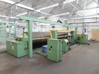 1 x 3.4m Benninger Supertronic Section Warping with 528 Creel, 1990